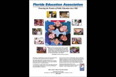 Florida Education Association ad For Florida Trend Magazine