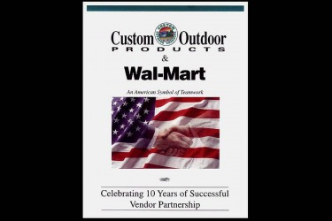 Custom Outdoor Products Walmart Presentation
