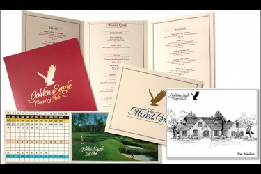 Golden Eagle Logo and Collateral Materials