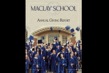 Maclay School Annual Giving Report Booklet Design
