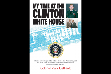 My Time at the Clinton Whitehouse Book Jacket Cover Design