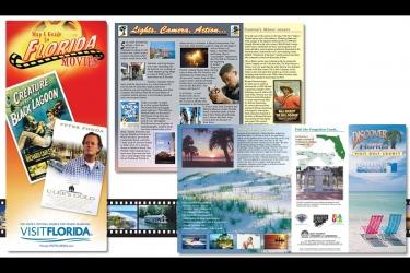 Visit Florida Brochure Designs