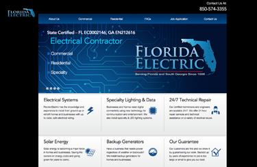 Florida Electric Contractor Wordpress