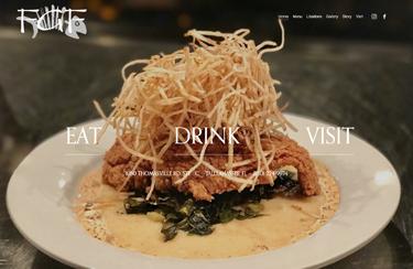 Food Glorious Food website