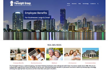 Foresight Insurance parent company to Waterhouse web