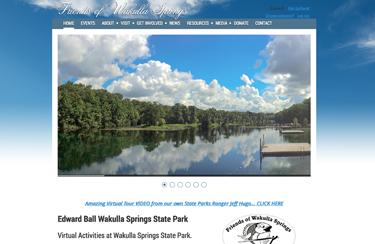 Tallahassee Website Design Wakulla Springs
