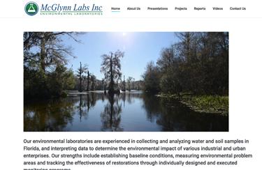 McGlynn Laboratories Wakulla Springs water testing web