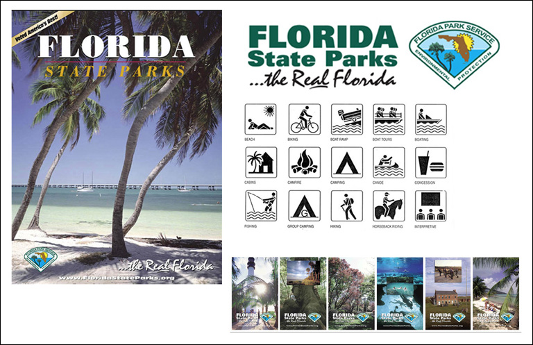 Florida State Parks – Logo, Icons, Brochure & Posters