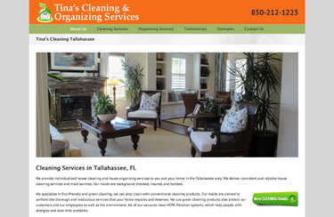 Tina's Cleaning – Cleaning & Organizing Services