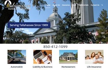 waterhouse associates website design tallahassee office
